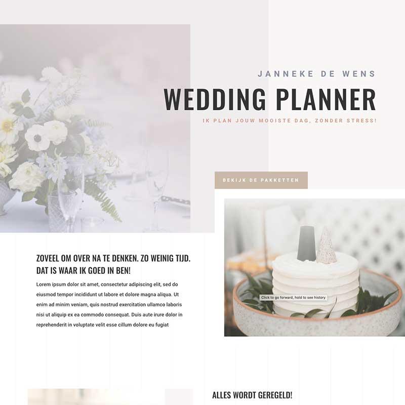 Onepage  - Screenshot website voorbeeld 5