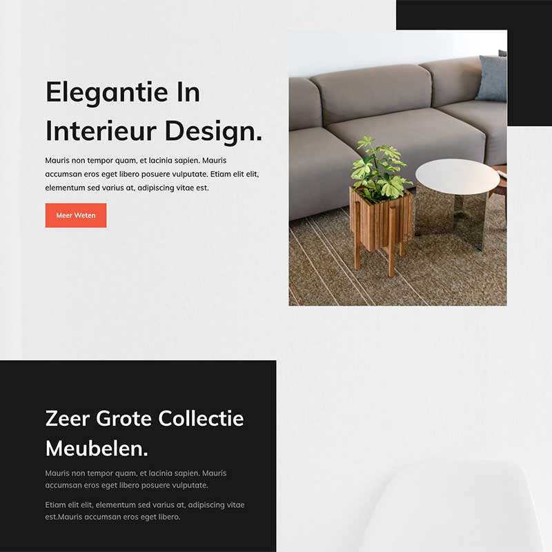 Onepage  - Screenshot website voorbeeld 7