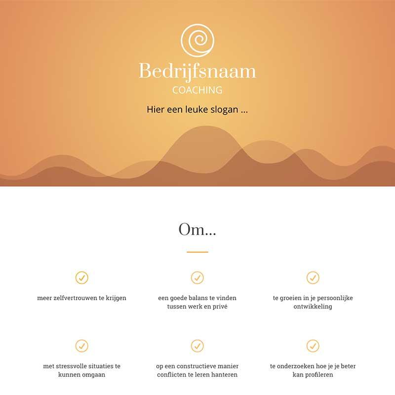 Onepage  - Screenshot website voorbeeld 9